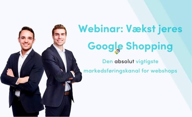 Google Shopping webinar