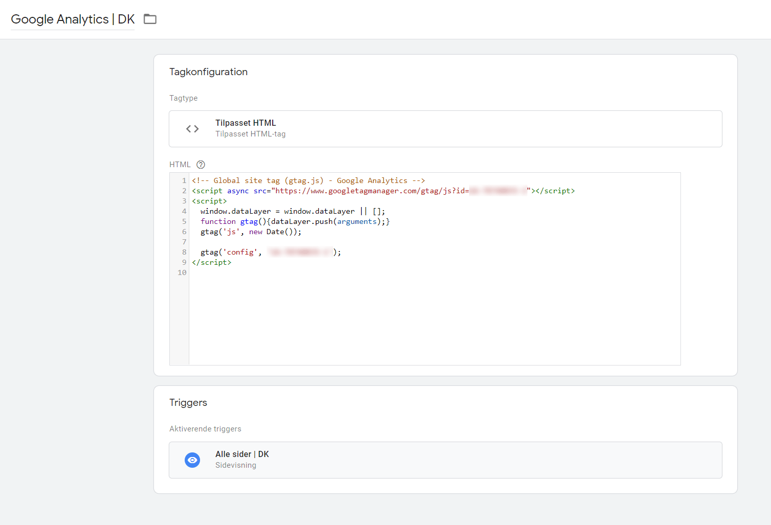 Tags i Google Tag Manager